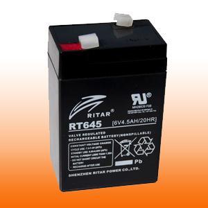 6 Volt zselés akkumulátor