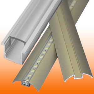 Alumínium profilok LED szalaghoz