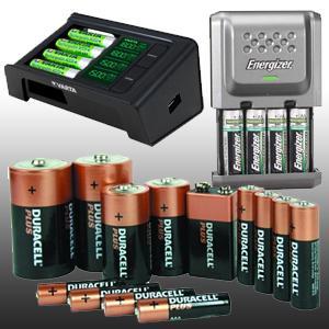 Elemek, akkumulátorok, töltők