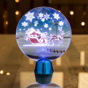 Karácsonyi LED dekor