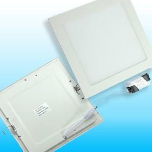 Szögletes süllyesztett LED panel