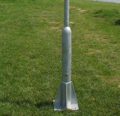 Acél lámpaoszlop 9m TTN D89