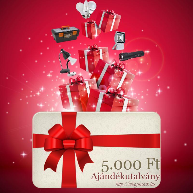 Ajándékutalvány 5000 Ft