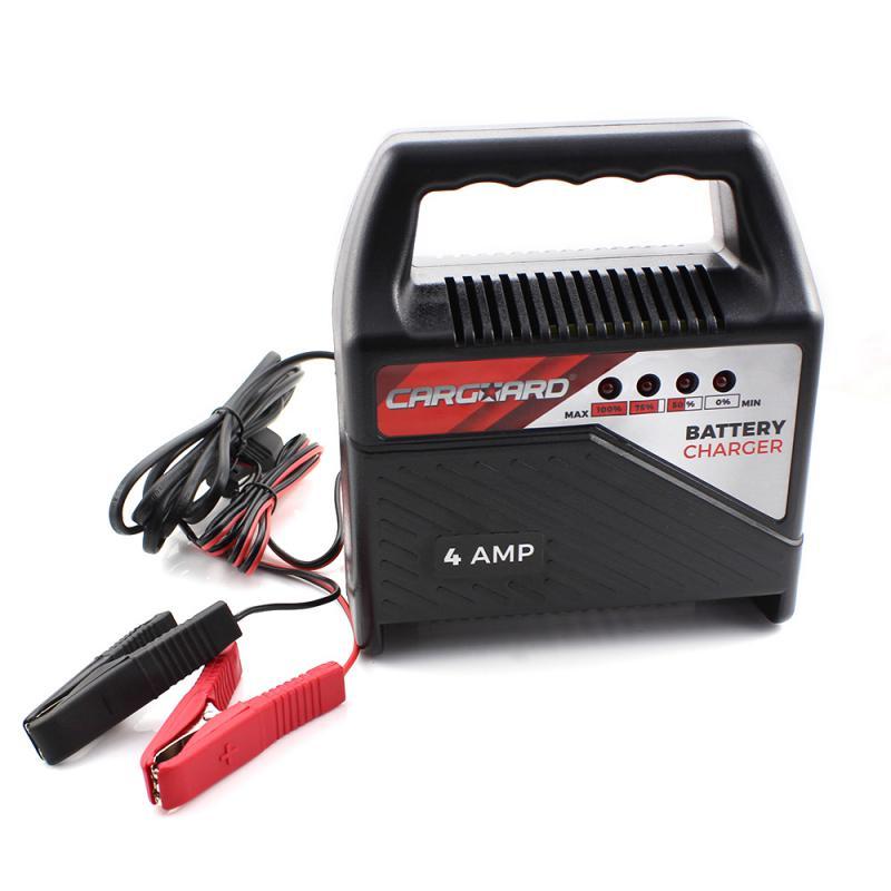 Akkumulátor töltő 4A, 12V [55777A]
