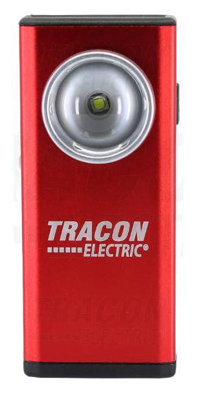 Akkumulátoros LED kézi lámpa, fém