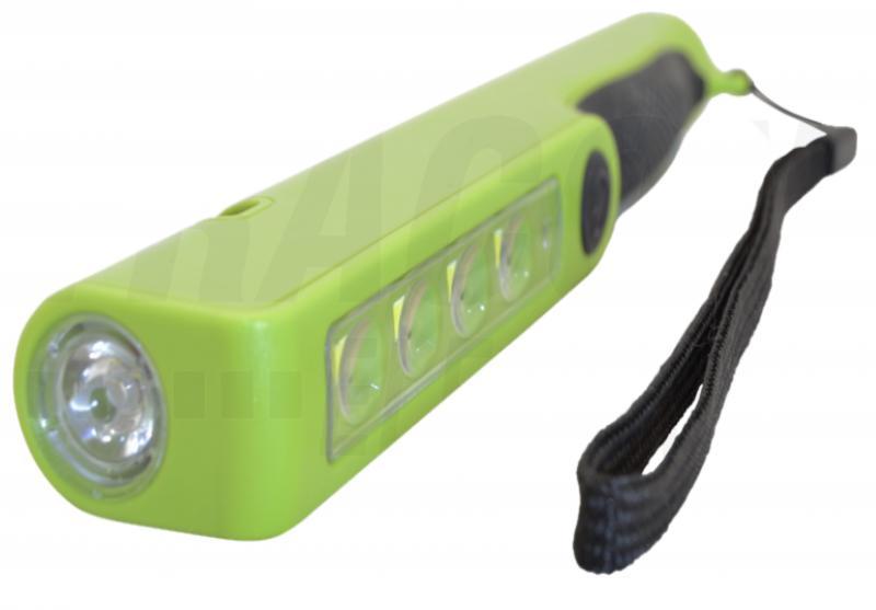 Akkumulátoros LED kézi lámpa, toll forma
