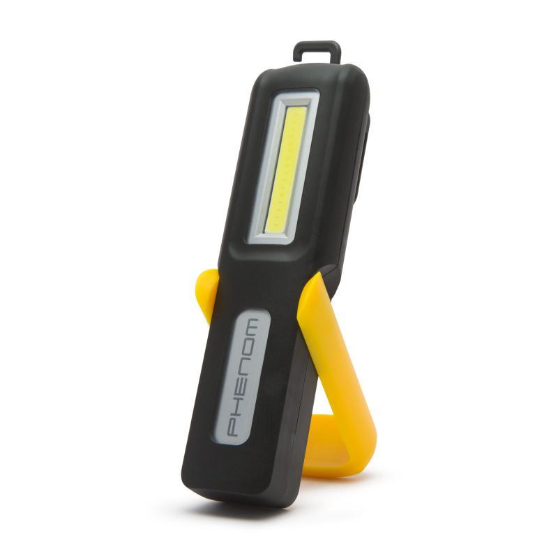 Akkumulátoros szerelőlámpa COB LED-es kicsi