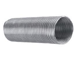 Alumínium csatorna csőventilátorhoz, elszívóhoz 1,5 m/120mm