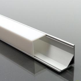 Alumínium profil LED szalaghoz 005 opál