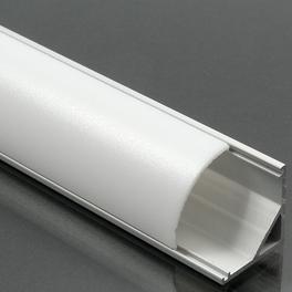 Alumínium profil LED szalaghoz 006 opál