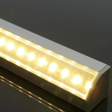 Alumínium profil LED szalaghoz 007 opál