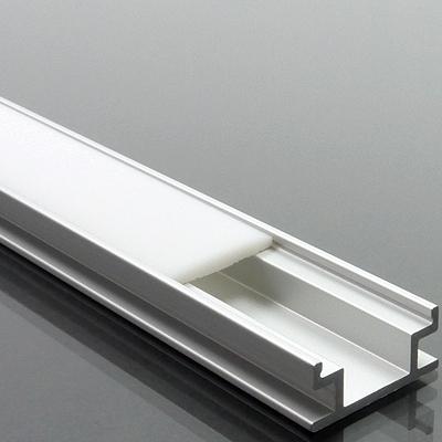 Alumínium profil LED szalaghoz 009 csempébe, burkolatba