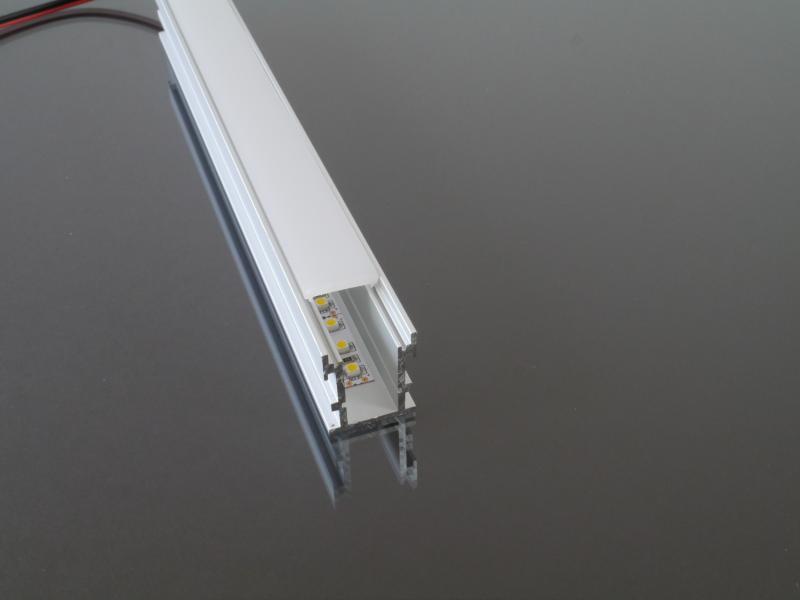 Alumínium profil LED szalaghoz 034
