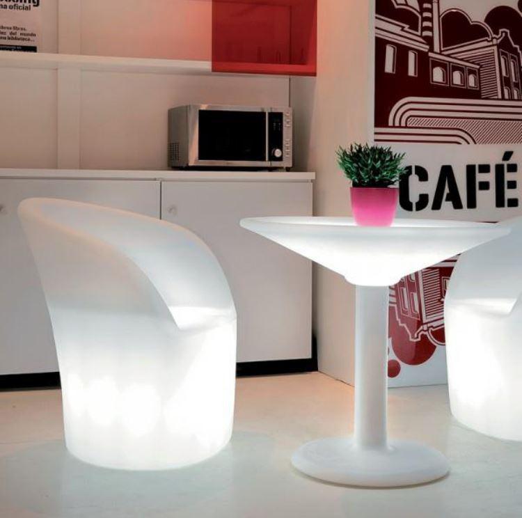 Asztal dekorációs lámpa Bermuda 800x740mm akkumulátorral RGBW IP65