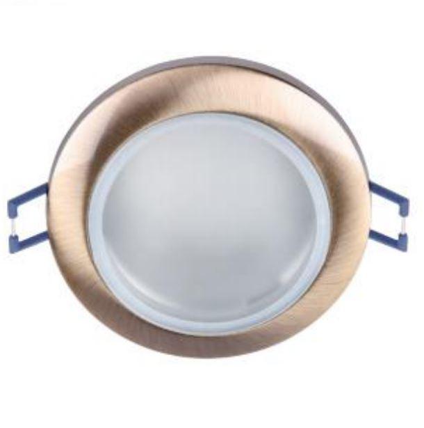 Beépíthető spot lámpatest IP44 ELR627 Antik réz