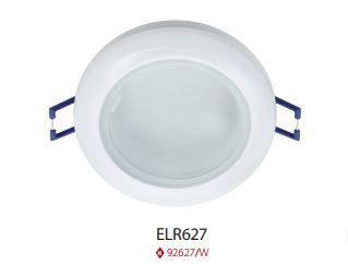 Beépíthető spot lámpatest IP44 ELR627 fehér