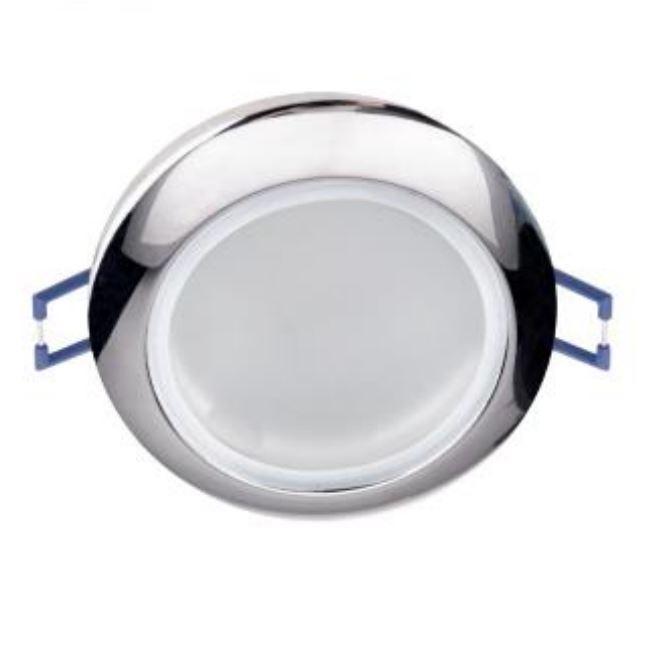 Beépíthető spot lámpatest IP44 ELR627 króm
