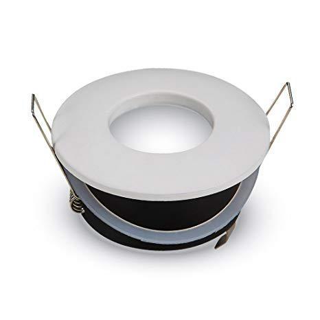Beépíthető spot lámpatest IP44 fürdőszobai fehér