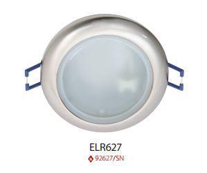 Beépíthető spot lámpatest IP44 szatén nikkel