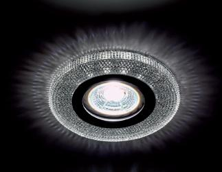 Beépíthető spot lámpatest kristály kör CR-772/CLEAR 3W 4000K