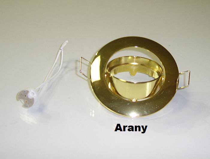 Beépíthető spot lámpatest SA-90 arany