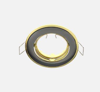 Beépíthető spot lámpatest SA-91 Grafit-Arany