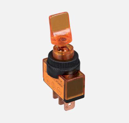 Billenő kapcsoló piros világítós 12VDC