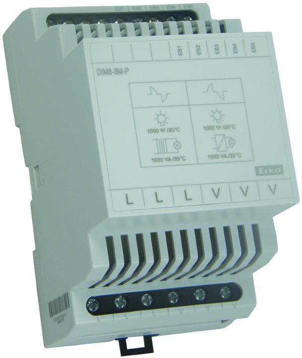 Bővítőmodul DIM-6 fényerőszabályzóhoz