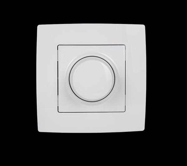 City fényerőszabályzó kapcsoló fehér