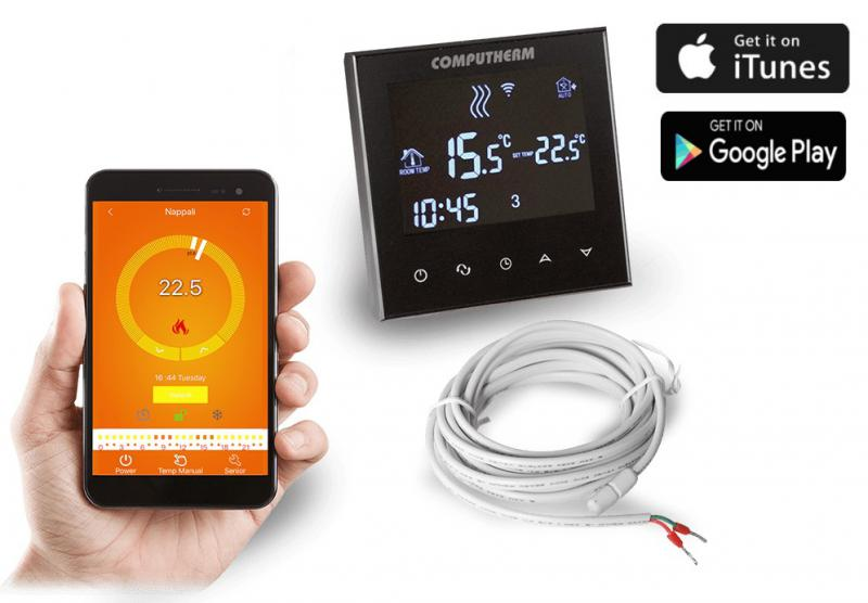 COMPUTHERM E300 Wi-Fi termosztát radiátoros- és padlófűtési rendszerekhez