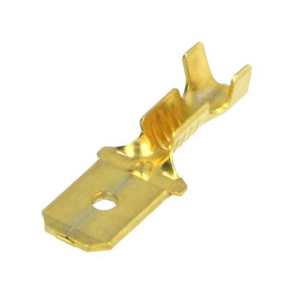 Csúszósaru 6,3mm dugó
