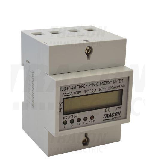 Digitális almérő 3 fázisú 4 modul