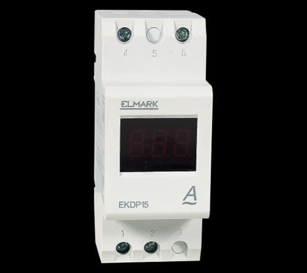Digitális árammérő DIN sinre AC