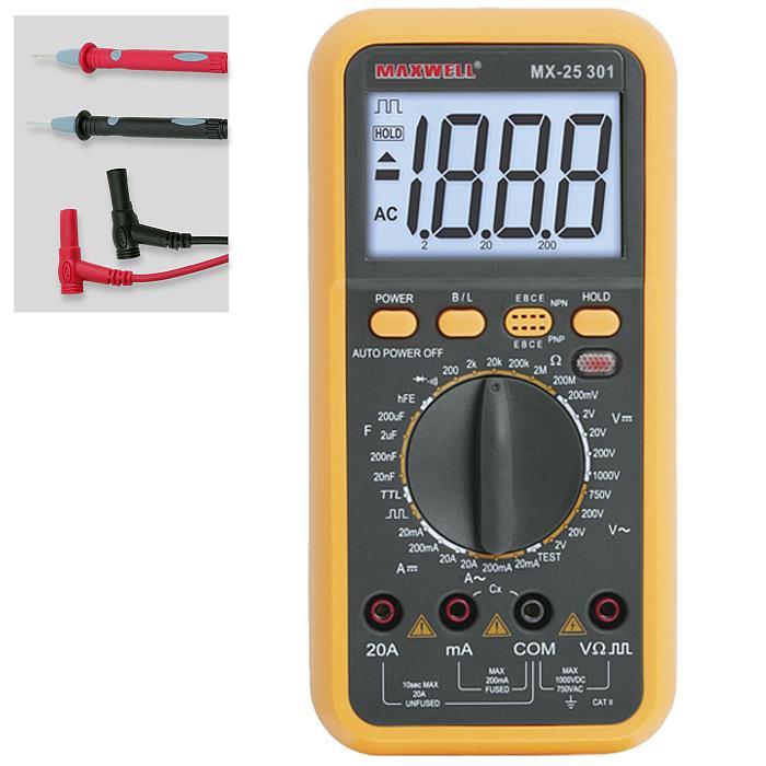 Digitális multiméter 25301