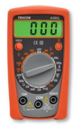 Digitális multiméter A880L