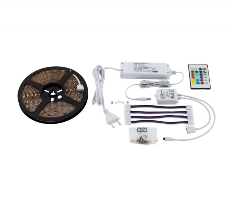 EGLO LED STRIPES-FLEX 500 cm LED szalag szett 20W RGB+W