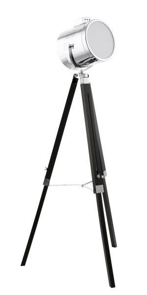 EGLO UPSTREET  fekete króm állólámpa E27 1x60W