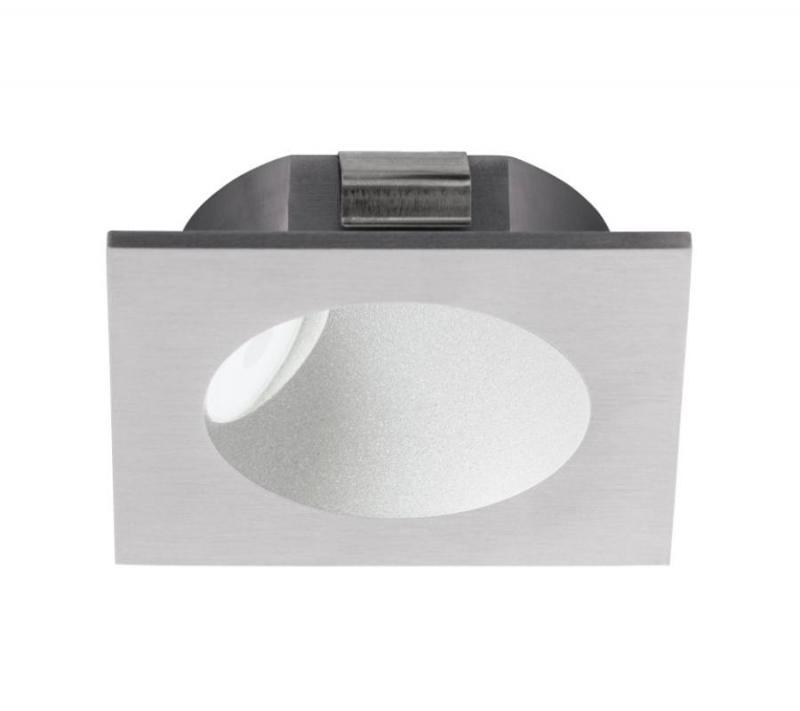 EGLO ZARATE LED süllyesztett lámpa ezüst 2W 80x80