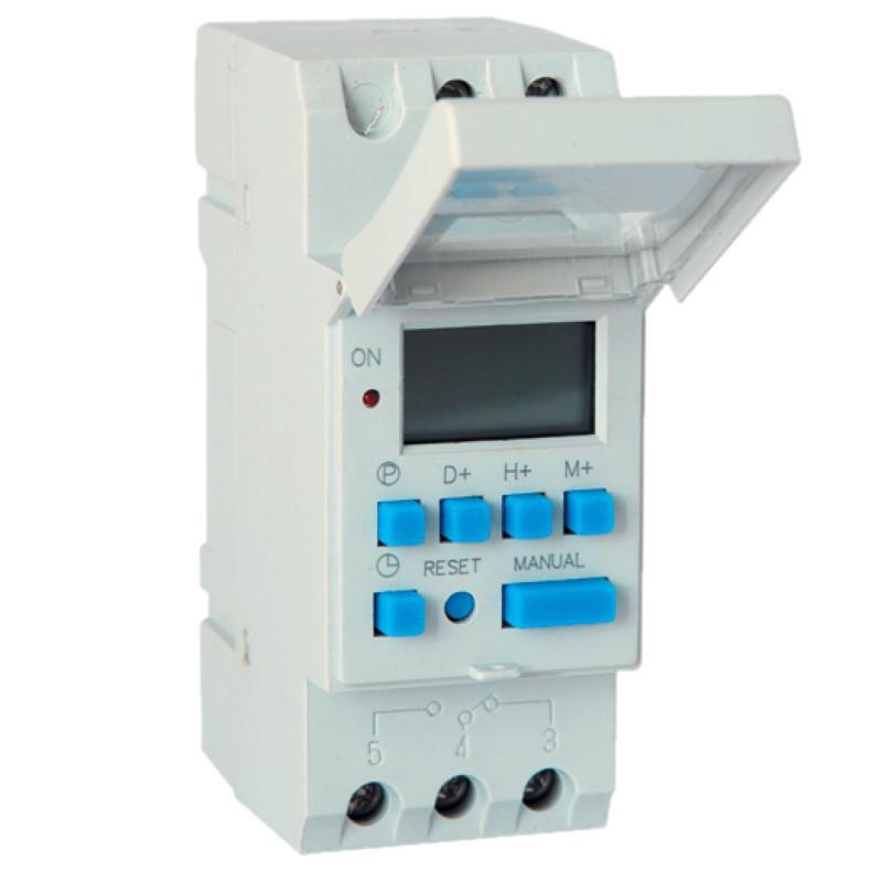 Elektronikus egycsatornás időzítő kapcsoló TE15A