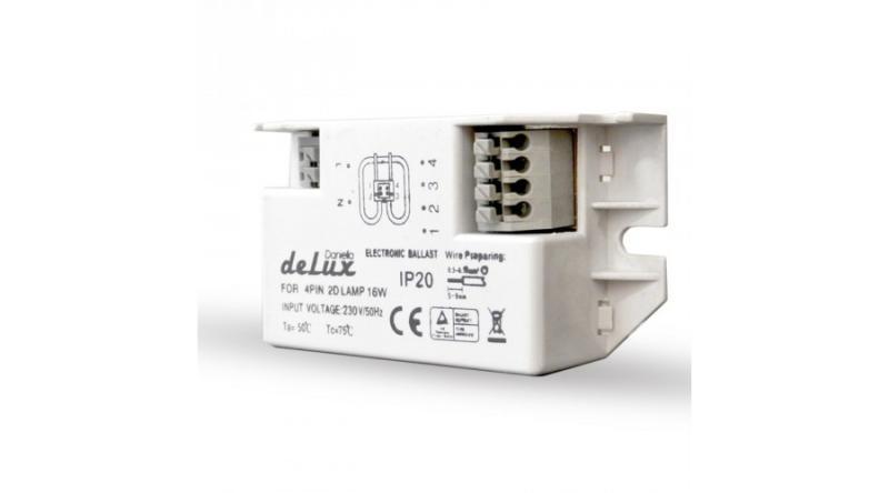 Elektronikus előtét perec fénycsőhöz 16W