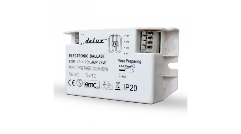 Elektronikus előtét perec fénycsőhöz 28W
