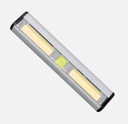 Elemes LED kézi lámpa mágnessel és tépőzárral