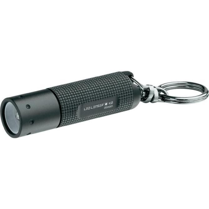 Elemlámpa kulcstartó Led Lenser K2