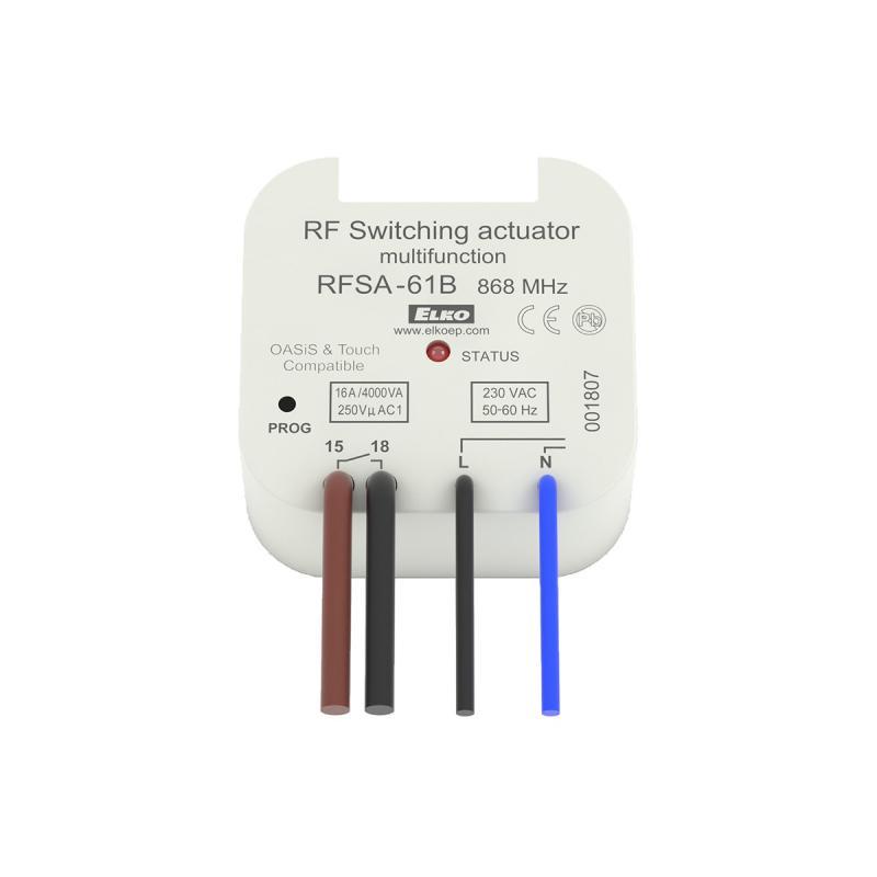 Elko multifunkciós kapcsolóeszköz RFSA-61B - RFIO2 230V