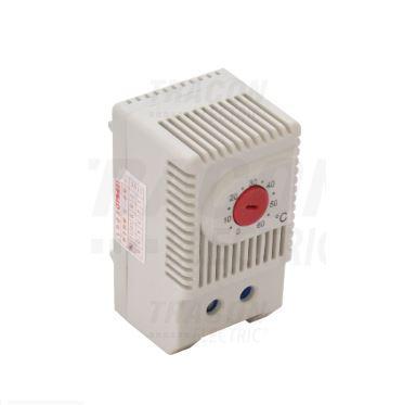 Elosztószekrény fűtőegységhez termosztát
