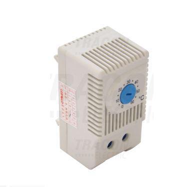 Elosztószekrény ventilátorhoz termosztát