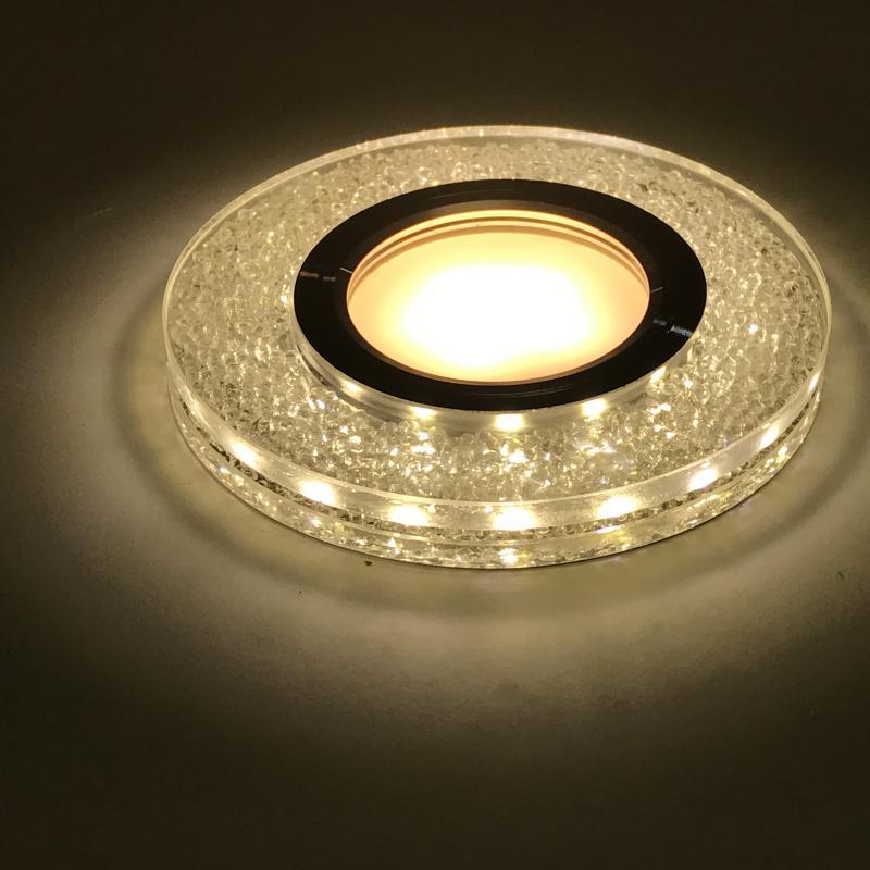 Beépíthető spot lámpatest kristály kör CR-771 3W 4000K