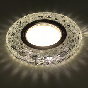 Beépíthető spot lámpatest kristály kör CR-774 3W 4000K
