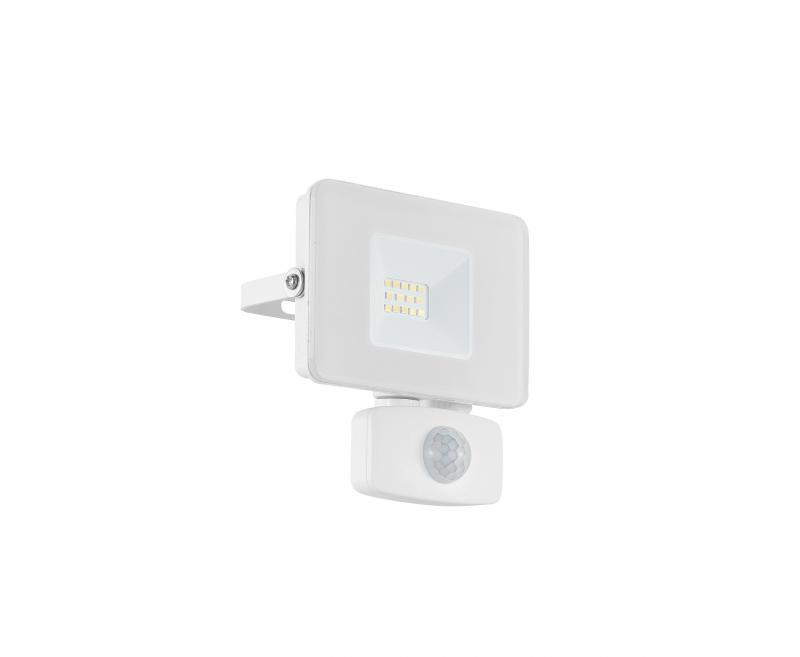 FAEDO kültéri fali LED-es szenzoros fehér reflektor 10W IP44