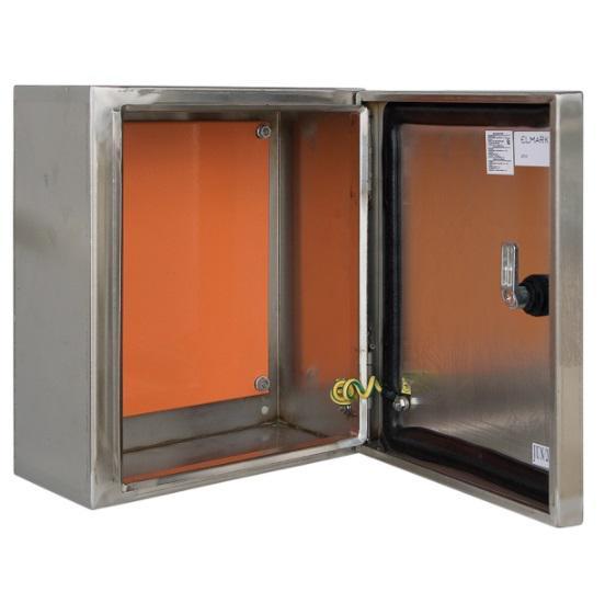 Fém elosztószekrény rozsdamentes anyagból SXF 500x400x200